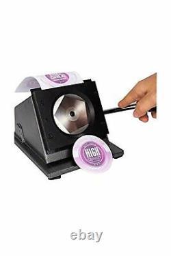 Machine D'insigne Bouton Maker 58mm/2.28 Pouces(21⁄4 Pouces) Insigne Maker Appuyez Sur