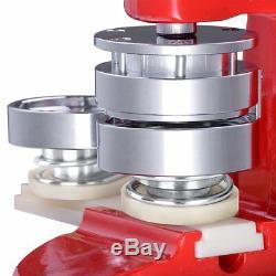 Machine De Fabricant D'insigne De Bouton De Goupille De 58mm Avec La Pièce De Boutons De 1000 Pièces, Coupeur De Cercle