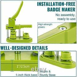 Machine De Fabrication De Boutons Sans Installation 25mm (1 Pouce) Insigne Presse 25mm-1000pc