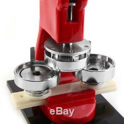 Machine De Kit De Fabricant De Goupille De Bouton De Presse De Poinçon D'insigne De 25/32 / 58mm Avec 1000 Boutons