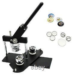Machine Rotary Button Maker Bricolage Pin Bouton Maker Badge Punch Appuyez Sur Die Molds