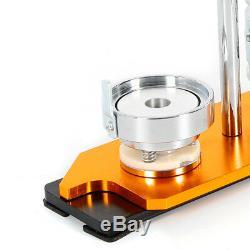Manuel 100 Boutons Cercle Badge Poinçonneuse Pin + 25 / 58mm Bouton Maker Machine