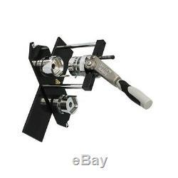 Manuel Bouton Carré 37mm Maker Badge Machine De Fabrication Avec Le Type Swing Plaque De Moule