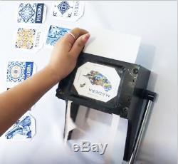 Manuel Poinçonneuse Cutter Graphique Die Cutter Badge / Bouton Maker Bonne Qualité