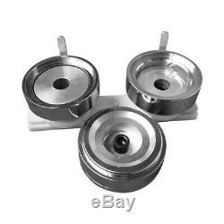 Moule Rond 1.45 (37mm) Avec Rail De Glissière En Plastique Pour Le Fabricant De Boutons D'insigne Diy