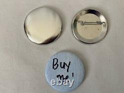 Neil Enterprises 2.25 Bouton Badge Pin Maker Shells Bouton Backs Punch Press
