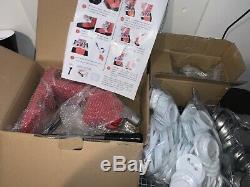 Nib 2 1/4 Bouton Badge Maker Presse De La Machine Avec 200 Ébauches De Boutons