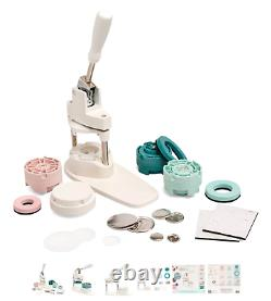 Nous R Memory Keepers Button Press Badge Maker Bundle