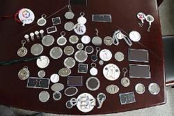 Ovale 1-3 / 4x2-3 / 5 46x65mm Pro N4 Badge Button Maker + 100 Pin Badge Metal Diy Kit