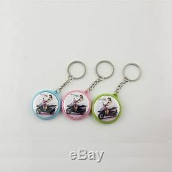 Presse De Badge De Machine De Fabricant De Bouton De 32mm + Boutons De Pin + Boutons Magnétiques + Porte-clés