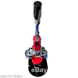 Presse De Badge Machine Fabricant De Bouton 2-1 / 4 58mm + 1 000 Fournitures De Bouton + Coupe-cercle