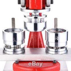 Presse De Poinçon D'insigne De Diy En Métal De Machine En Métal De Machine De Fabricant De Bouton De 32mm 1 1/4 Avec 1000 Pièces