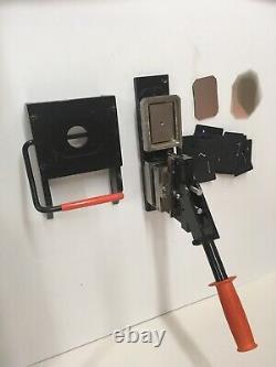 Rectangle Button Magnet Maker Tecre 2030 2 X 3 Cutter & Pièces Pin Badge Press