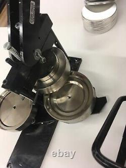 Tecre 3.5 Fabricant De Boutons Et Aimants Graphique De Broche D'insigne De Poinçon Plus 50 Pièces
