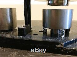Tecre Modèle 100 1 Pouces Bouton Rond Maker + Bouton Pièces / Accessoires Pour Machines Badge