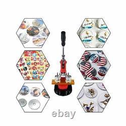 Toauto Bouton Badge Maker 37mm 1,5 Pouce Bouton Badge Kit Pins Punch Appuyez Sur Mac