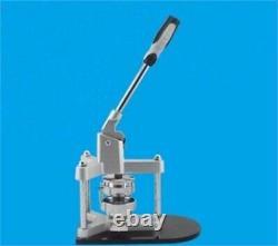 Tout Nouveau Badge En Aluminium 58mm / Machine Button Maker Avec Rails De Diapositives Métalliques Pr