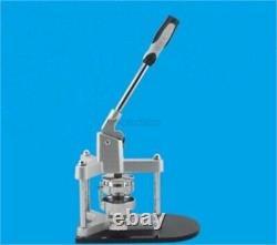 Tout Nouveau Badge En Aluminium 58mm / Machine Fabricant De Boutons Avec Des Rails De Glissière En Plastique Uz