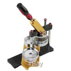 Vente Chaude Maker Badge Ronde Punch Machine Pour Faire De Bricolage Pin Boutons 58mm Us Navire