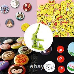 Vevor 1 25mm Badge Button Maker 2000pcs Pièces Gratuites Avec Coupeur De Cercle Pour Enfants