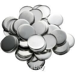 Vevor 3/75 MM 500 Ensembles Complets Badge Button Pin Parts Pour Button Maker Diy