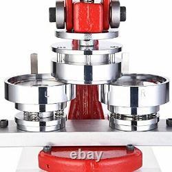 Yescom 2 1/4 Pouce 58mm Bouton Badge Maker Punch Presse Machine Avec 1000 Pcs P