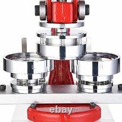 Yescom 2 1/4 Pouce 58mm Button Badge Maker Punch Press Machine Avec 1000 Pcs P